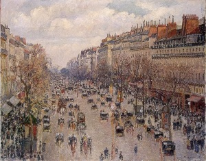 Camille Pissarro, Montmatre